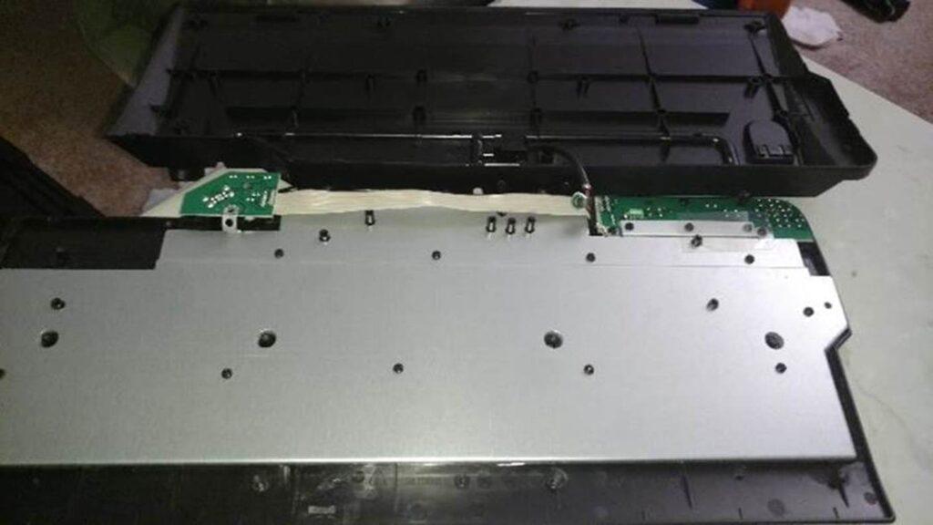 Opening a Modern keyboard